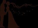 Illustration mariage redi